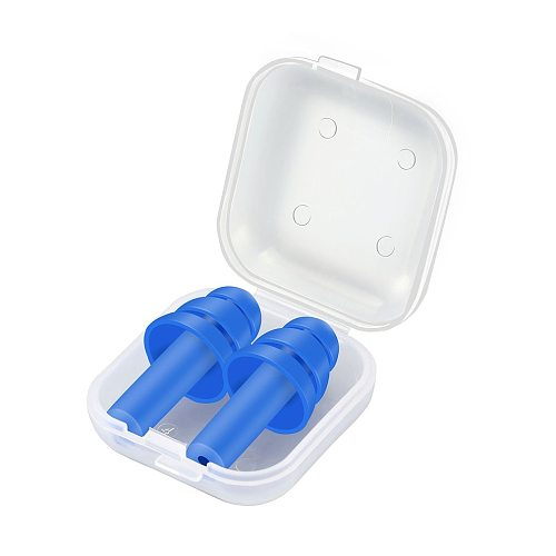 Hot Sale Soft Foam Silicone Ear Plugs Sound Insulation Ear Protection Earplugs Anti-noise Sleeping plugs with Storage Box