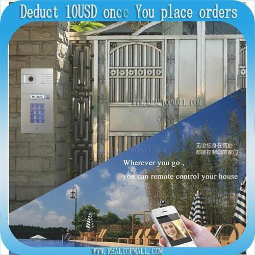 Hot New Wifi Doorbell Camera Wireless Video Intercom Phone Control IP Door Phone Wireless Door bell