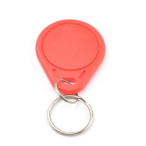 100Pcs RFID Keytags 13.56MHz 14443A M1 1K S50  Smart IC Key Ring Tag Keyfob Token  Access Control