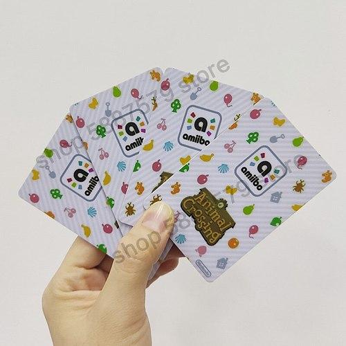 386 Animal Crossing Amiibo Card Rosie Amiibo Card Animal Crossing Series 4 Rosie Nfc Card Work for Ns Games Dropshipping