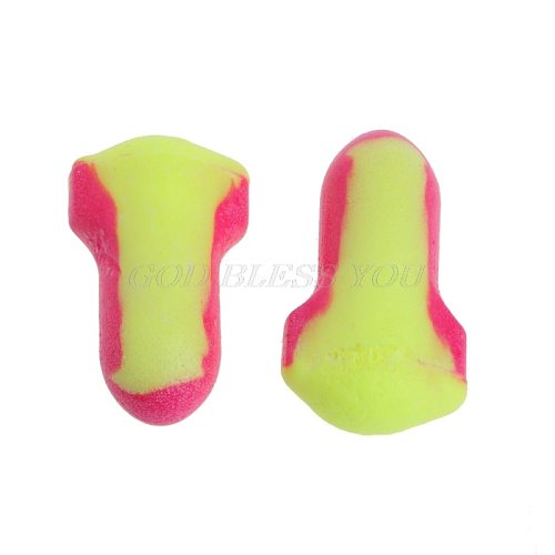 10 Pairs Disposable Soft Foam EarPlugs Sleeping Travel Work Ear Protection Snore-Proof Sleep Ear Protector No Cords