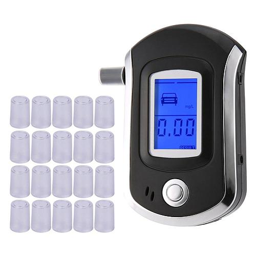 Precision Mouthpieces For Breath Alcohol Testing Breathalyzer Tester AT-6000 Detector