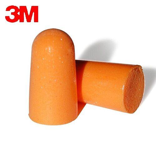 20pairs 3M 1100 Authentic  Slow Reboun Foam Soft  EarPlugs Noise Reduction Norope Earplugs Swimming Protective earmuffs