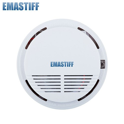 Promote Independent 85dB sound alarm Fire Smoke Sensor Wholesale Price working independently can't use the alarm system
