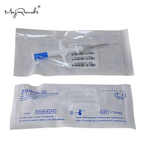 One Piece Pet Microchips 1.4*8mm ISO11784/785 FDX-B Cat Dog Snake Syringe
