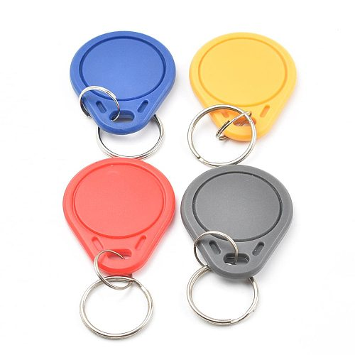 5pcs/lot UID Changeable IC tag keyfob for s50 1k 13.56MHz  Writable  0 zero HF ISO14443A Chinese Magic Backdoor Command