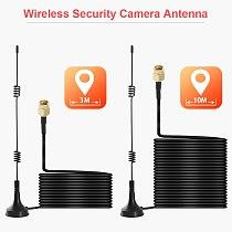2.4G Wifi Extension Antenna Sucker 3m /10m Extender Cable 5dbi Hing Gain Sucker For BOAVISION Wireless PTZ Bullet IP Camera