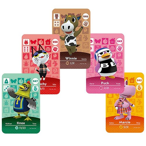 Hot Animal Crossing Card 264 marshal NFC Card for nintendo switch NS Games series 1 2 3 4