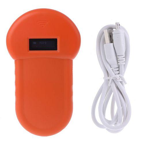 Pet ID Reader Animal Chip Digital Scanner USB Rechargeable Microchip Handheld Identification General Application