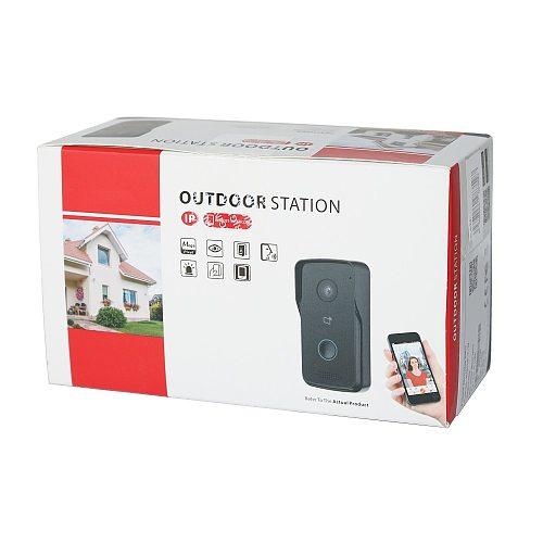 DH logo Multi-language VTO2111D-P-S2 802.3af PoE IP Villa Doorbell,Video intercom,IP Door Phone,P2P Cloud,Door Station