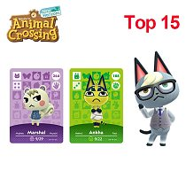 Animal Crossing Amiibo Card Animal Crossing New Horizons For NS Switch Popular Villagers Raymond/Judy/Marshal/Ankha/Coco/Diana