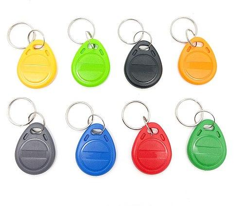 50pcs /Lot T5577 EM4305 Copy Rewritable Writable Rewrite Duplicate RFID Tag Proximity Token Keyfobs Can Copy 125KHz card