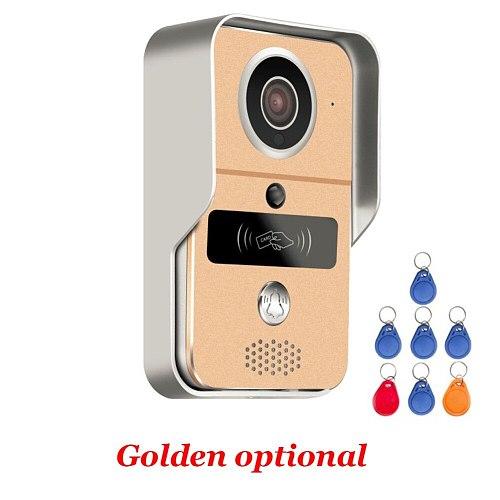 Smart 1080P Home WiFi Video Door phone intercom Doorbell Wireless Unlock Peephole Camera Viewer