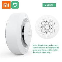 Xiaomi Mijia Honeywell Fire Alarm Smoke Detector Sensor Audible Visual Alarm Notication Work With Mi Home APP By Phone
