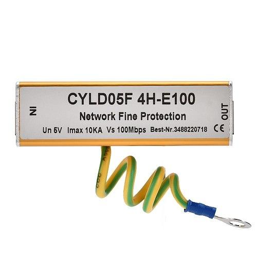RJ45 RJ11 5V Adapter Ethernet Network Surge Protector Thunder Lighting Arrester Protection