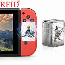 Full Set 24Pcs The-Legend-Of-Zelda BOTW NFC Tags Game Cards Collection Mini PVC Tag Card Used For NS Switch WiiU