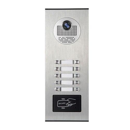 YobangSecurity Metal Waterproof Case Outdoor RFID Access Control Doorbell Camera For Apartment Video Intercom Door Phone System