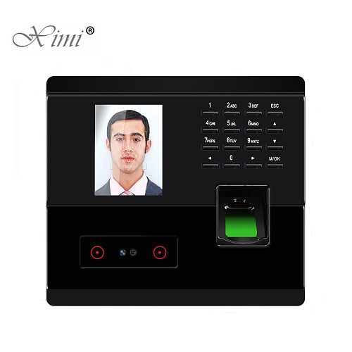 UF200 TCP/IP and USB Face And Fingerprint And Password Access control Time Attendance Time Clock Biometric Time Recording