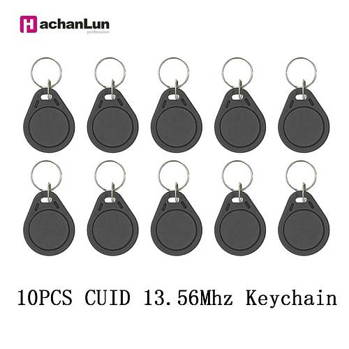 5/10PCS  NFC 0 sector writable Tag  13.56Mhz rewritable copy key token CUID access card RFID smart chip badge