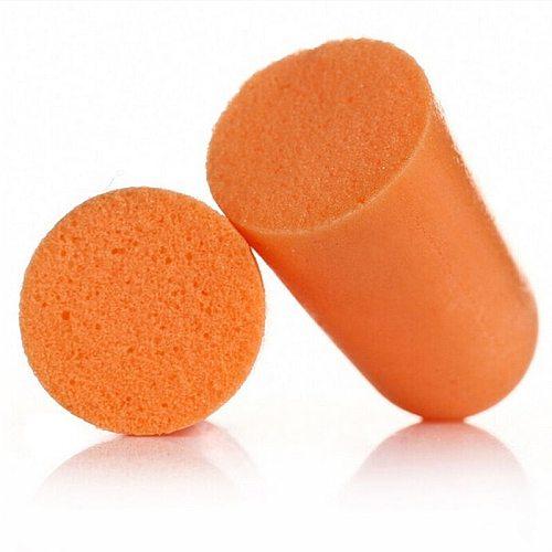 10pairs 3M 1100 Authentic Noise Reduction Norope Ear plug Slow Reboun Foam Soft  EarPlugs  Sleeping Swimming Protective earmuffs