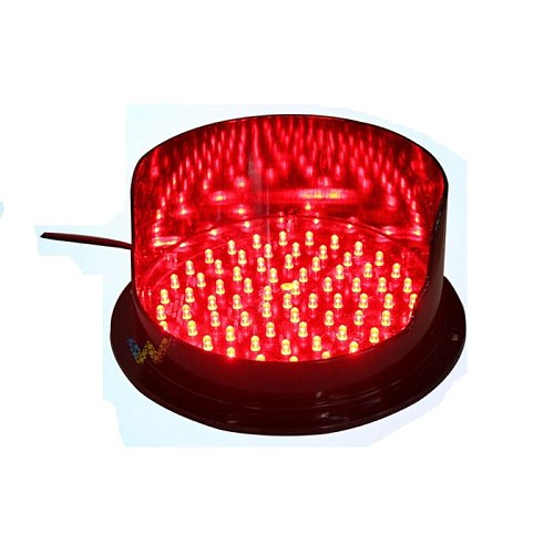 WDM 200mm Lamp with Visor for Traffic Light Replacement 3 Colors Available One Piece Choose One Color