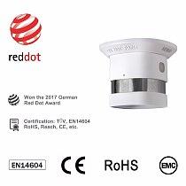 NEW HEIMAN Z-wave Smoke detector Zwave smart home EU 868.42MHz Z wave Fire alarm sensor for Security Smart House Free Shipping
