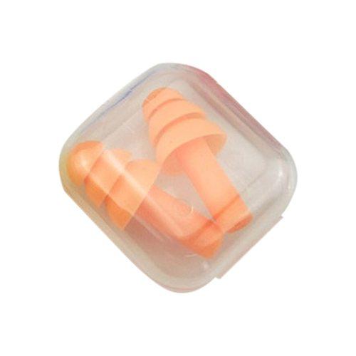 Hot Sale Soft Foam Silicone Ear Plugs Sound Insulation Ear Protection Earplugs Anti-noise Sleeping plugs with Storage Box
