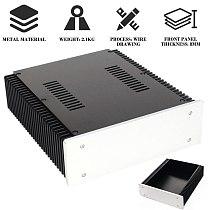 WA92 Aluminum Chassis Amplifier Case/amplifier Enclosure /DIY Cabinet DAC Box DIY KIT LESHP