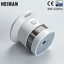 HEIMAN Zwave Smoke Detector fire Protection alarm Z-wave 868MHz Wireless Sensor for Smart Home Security Free Shipping