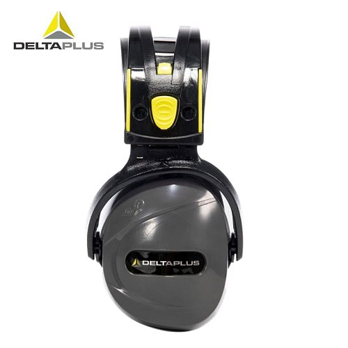 DELTAPLUS 103009 Noise earmuffs ABS shell Lining Synthetic foam cotton Noise-proof earmuffs SNR 33 Safety noise earmuffs
