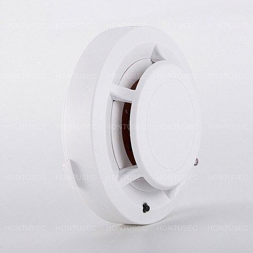 HONTUSEC Alarm Smoke Fire High Sensitive Detector Low Battery Home Security Wireless Alarm Smoke Detector Sensor Fire Equipment