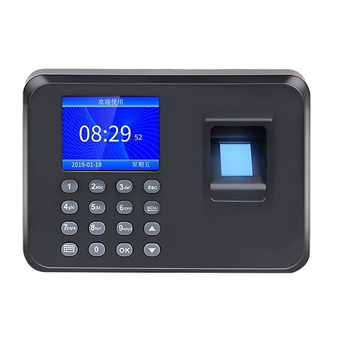 Biometric Fingerprint Attendance Machine LCD Display USB Fingerprint Attendance System Time Clock Employee Checking-In Recorder