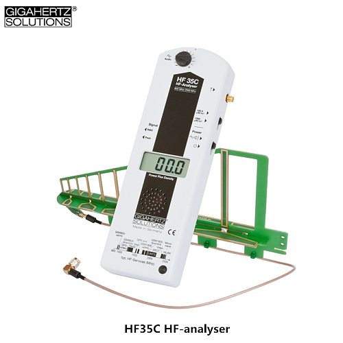 Genuine recommend GIGAHERTZ HF35C HF-analyser High-frequency electromagnetic radiation and microwave intensity monitor