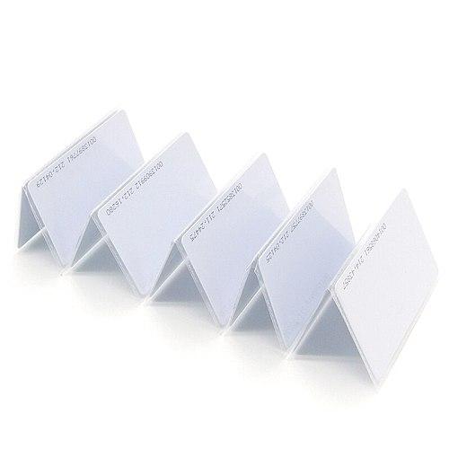 100PCS/Lot Smart Card Proximity Card RFID 125KHZ EM4100 TK4100 RFID TAG ID Card for Access Control Time Attendance