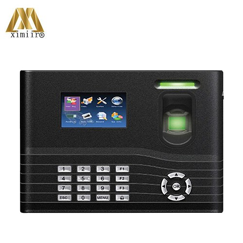 Biometric Time Attendance System IN01-A With 13.56Mhz IC Card Free SDK Time Recording ZK Smart Time Clock