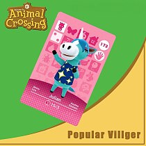 173 Animal Crossing Amiibo Card Julian Amiibo Card Animal Crossing Series 2 Julian Nfc Card Work for Ns Games Dropshipping
