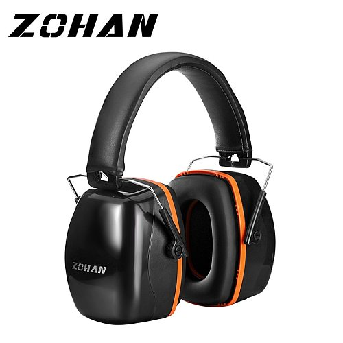 ZOHAN Noise Reduction Safety Earmuffs Headphone  NRR 28dB Shooters Hearing Protection Earmuffs Adjustable  Ear Protector Headset