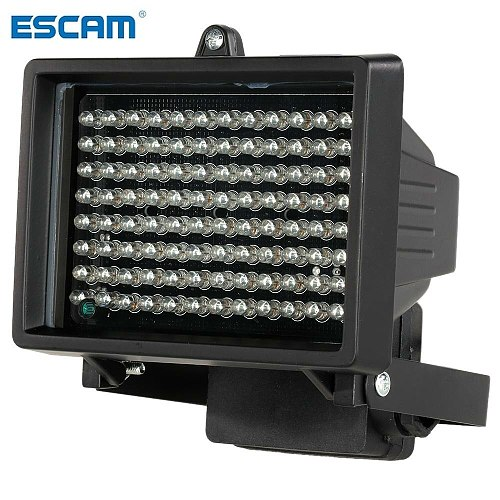ESCAM 96 LED illuminator Light CCTV 60m IR Infrared Night Vision Auxiliary Lighting Outdoor Waterproof For Surveillance Camera