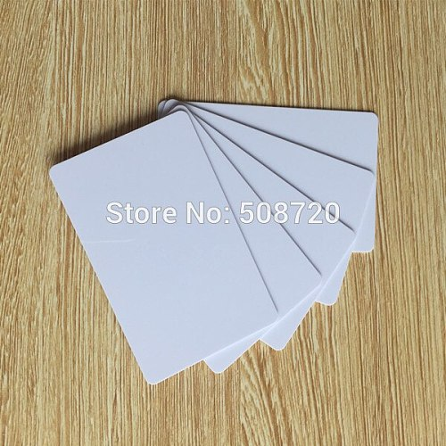 13.56MHz MIFARE Classic 4k Blank NFC card thin pvc card ISO14443A smart IC cards key card door entry systems -10pcs