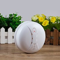 FUERS Independent Smoke Detector Intelligent Smoke Fire Detector High Sensitivity Low Battery Reminder High Volume SmokeDetector