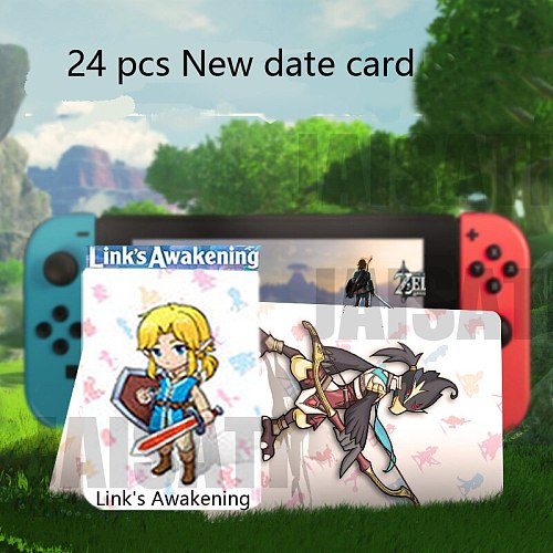 Mario Kart 8 Deluxe Breath for the Wild zelda amiibo The Games card of super smash bros Link Switch NFC card Super Odyssey