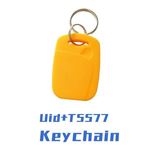 5/ 10pcs UID + 5577 RFID Smart NFC Dual Chip IC + ID Composite Keychain 125KHZ EM4305 13.56MHZ Repeatable Erasable Access Card