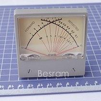 SZ-70 SWR Stationary Wave Ratio Meter Forwad 10W Reflected 2W Panel Dual Radio HF