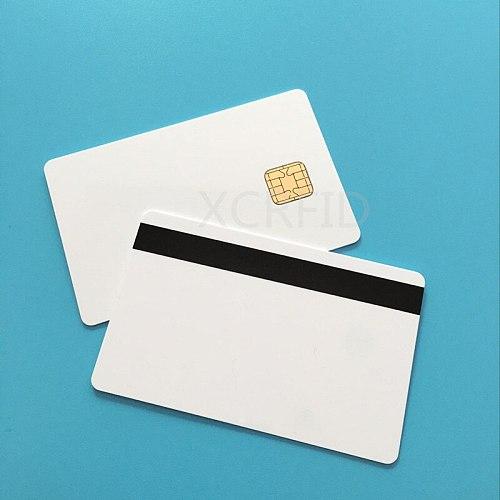 J2A040 40k EEPROM w / 2 Track Hi CO Magstripe Compatible JCOP21 36K Java JCOP Based Smart Card with SDK Kit  5 Pcs / Pack
