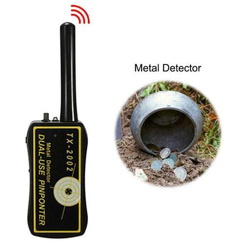 High Sensitivity Adjustable TX-2002 Handheld Metal Detector Long Range Diamond Archeological Gold Underground Metal Detector