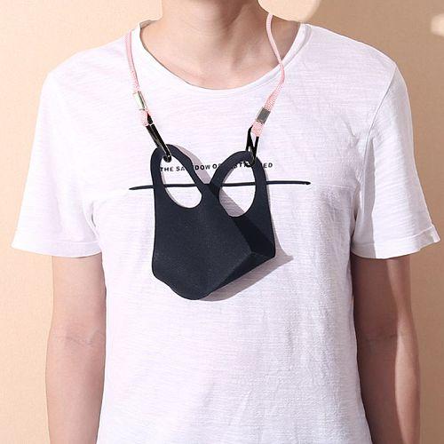 20pcs Adjustable Length Face Mask Lanyard Handy Convenient Safety Mask Holder Hanger Comfortable Around