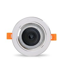 bathroom ceiling speaker  back cover 3 inch 10w 95mm cut-out family background music speaker dropshipping