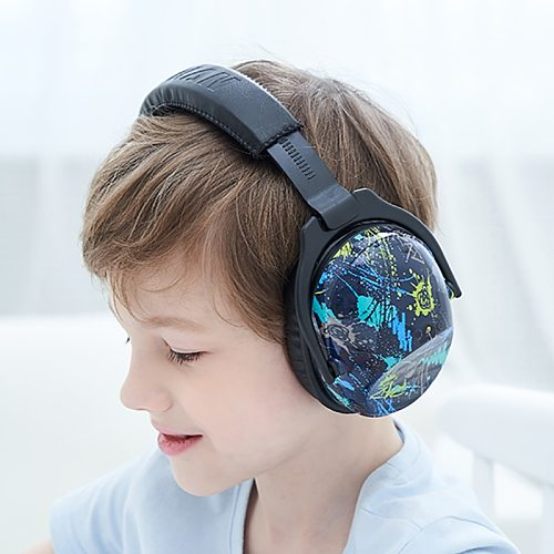 ZOHAN Kids Ear Protection Safety Ear Muffs NRR 22dB Noise Reduction Ear Defenders Best Hearing Protectors for Infants Kids boys