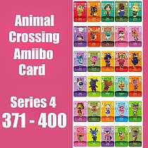 Series 4 (371 to 400) Animal Crossing Card Amiibo Card For Switch NS 3DS Games Series 4 Dropshipping Animal Crossing Amiibo Card
