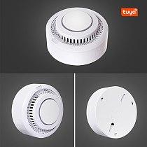 Smart Home Automation Wifi Smart Smoke Detector Tuya Smart Life Fire Alarm Sensor Home Security System